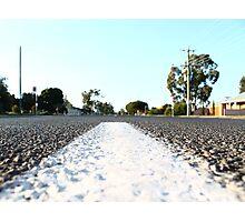 Road Photographic Print