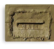 Mail Canvas Print