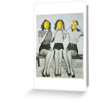 Lemonheads  Greeting Card