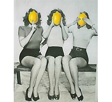 Lemonheads  Photographic Print