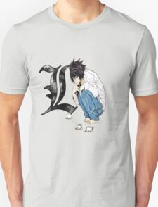 L Death Note ! T-Shirt