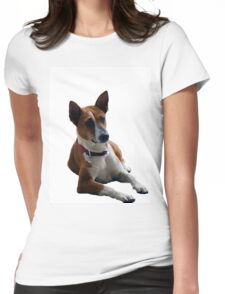 dog's day  Womens Fitted T-Shirt