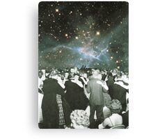 Dancing under the stars Canvas Print