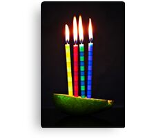 9-healthy eating... no cake... - 50-mm series Canvas Print