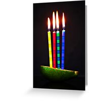 9-healthy eating... no cake... - 50-mm series Greeting Card