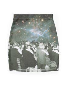 Dancing under the stars Mini Skirt