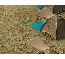 Tents Photographic Print