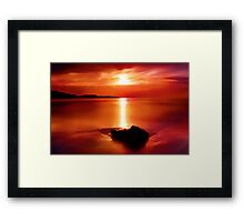 """Solitude At Sunrise"" Framed Print"