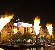 Melbourne at night 04 by DavidsArt