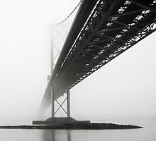 Bridge in Fog by chriscyner