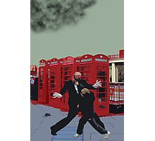 London Matrix, Punching Mr Smith Photographic Print