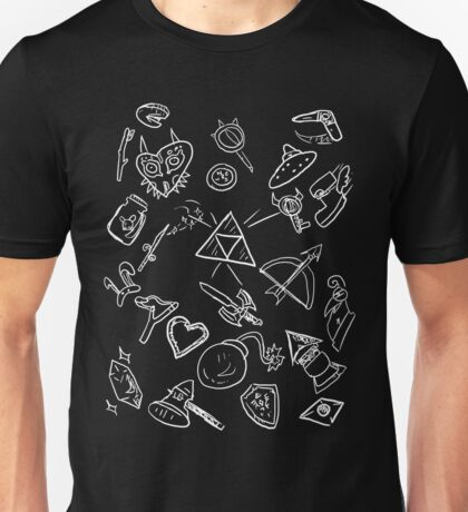 zelda items  Unisex T-Shirt
