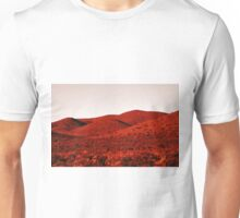 Red mountains Unisex T-Shirt