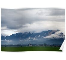 The Kamnik Alps after a storm Poster
