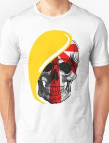 Blond Skull Unisex T-Shirt