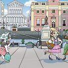 square scene by sirbonessa