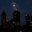 Melbourne at night 09 by DavidsArt