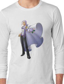 Yolanda, Purple Duelist Long Sleeve T-Shirt