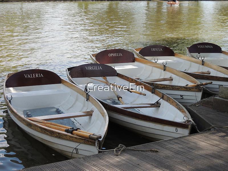 Stratford upon Avon boats by CreativeEm