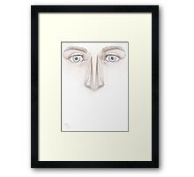 Lack of Substance. Framed Print