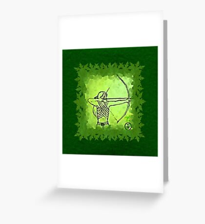 Elven Ranger Greeting Card
