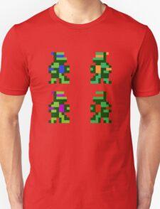 8 bit Funny Turtles T-Shirt