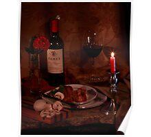 Ramey Wine and Steak Poster