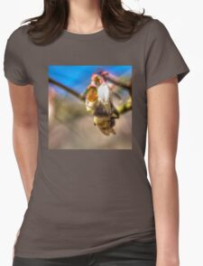 Bee Back at 4:15 pm matching Qtees Womens Fitted T-Shirt
