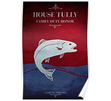 House Tully - Game of Thrones Poster