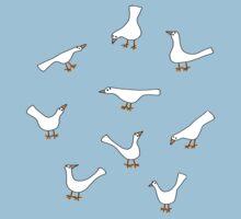 White Birds Kids Clothes