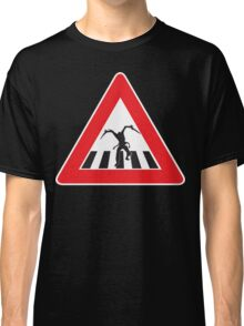 Caution - Necromorph Crossing Classic T-Shirt