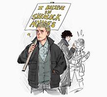 We Believe in Sherlock (Reapersun) Unisex T-Shirt