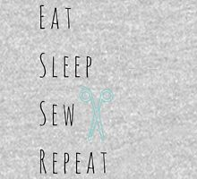 Eat, Sleep, Sew, Repeat. Unisex T-Shirt
