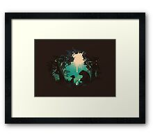 Conversationalist Framed Print