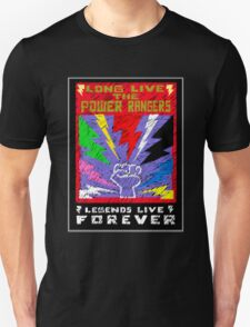 Long Live the Power Rangers T-Shirt