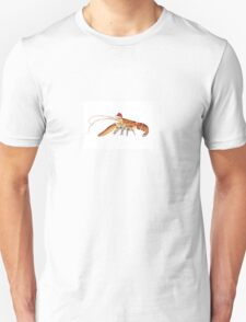 Lobster Santa Unisex T-Shirt