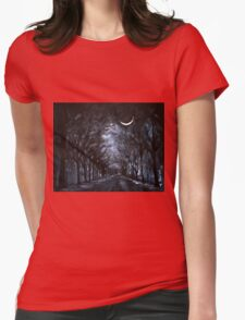 Morning Glow Womens Fitted T-Shirt