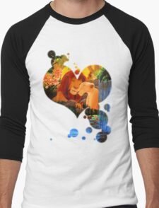 Can you feel the love tonight ? Men's Baseball ¾ T-Shirt