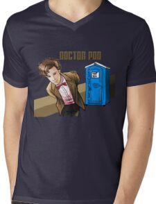 Doctor Poo Mens V-Neck T-Shirt