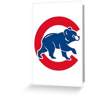 chicago cubs Greeting Card