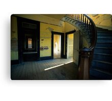 Visitor At The Mead Hotel Canvas Print