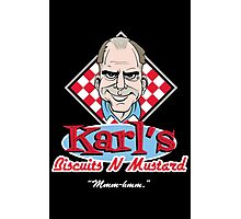 Karl's Biscuits 'N' Mustard Photographic Print