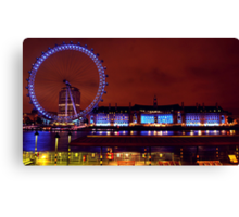 London In Colour Canvas Print