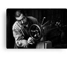 Shoemaker Canvas Print
