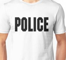 FOO FIGHTERS TAYLOR HAWKINS POLICE TEE (BLACK TEXT) Unisex T-Shirt