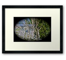 Seeds of time and change Framed Print