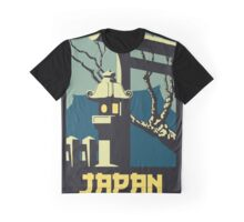Retro vintage style Japan travel advertising Graphic T-Shirt