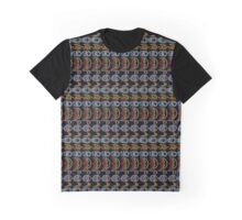 Street Fighter Projectile Tile Graphic T-Shirt