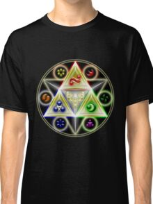 The Legend of Zelda: Ocarina of Time - Spiritual StoneTriforce! Classic T-Shirt