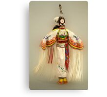 First Nations Traditional Dancer Canvas Print